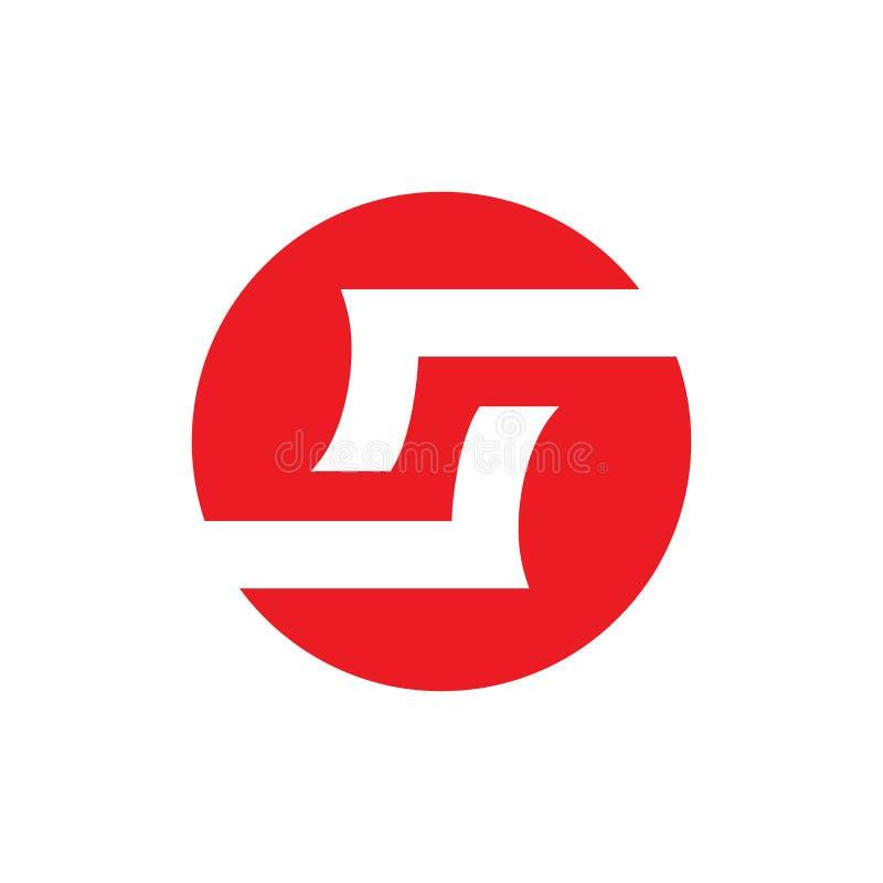 Initial letter S Vector Logo Design stock illustration