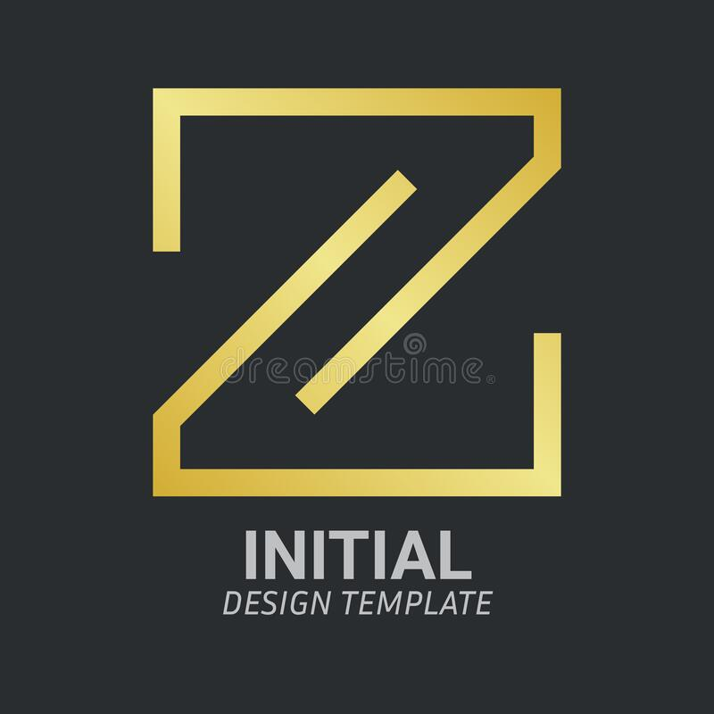Free Initial Letter Z Logo Icon Concept. Creative Minimal Alphabet Emblem Design Template. Graphic Symbol For Corporate Business Stock Image - 213735471