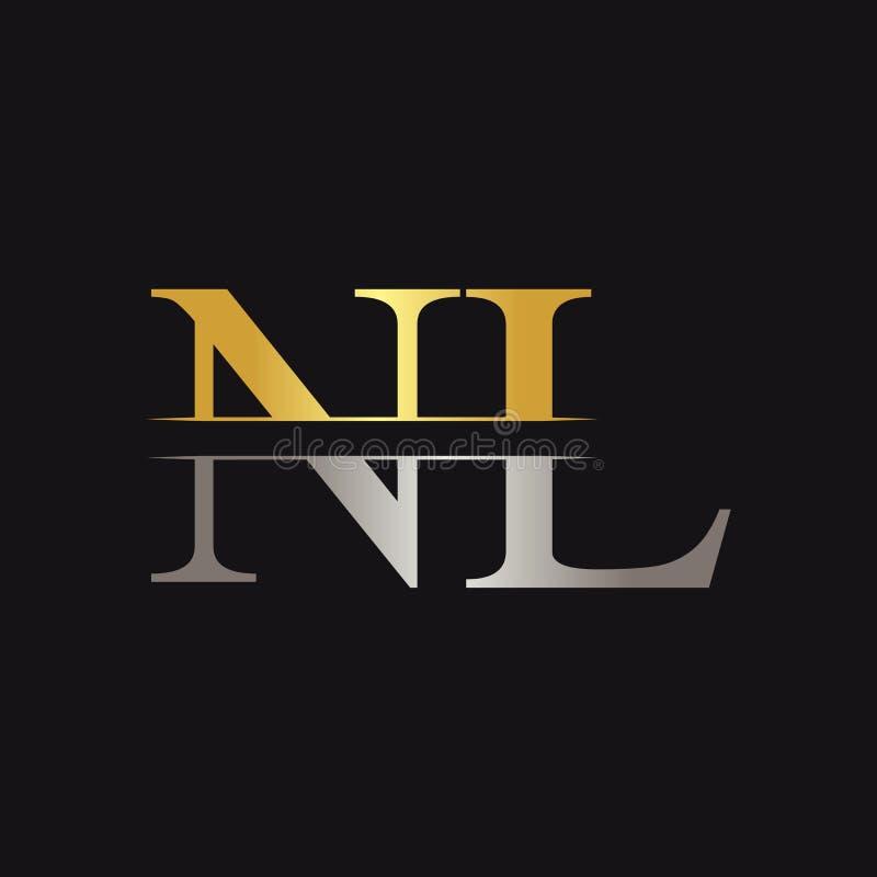 Initial Monogram Letter Nl Logo Design Vector Template Nl Letter Logo Design Stock Vector Illustration Of Modern Identity 173046989