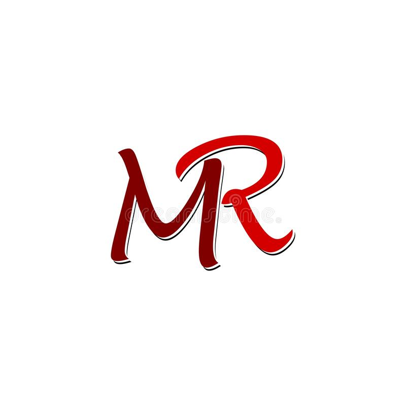 Initial Mr Letter Logo Design Isolated On White Background Stock Vector Illustration Of Identity Logotype 173579590 A collection of beautiful love letters for free. initial mr letter logo design isolated