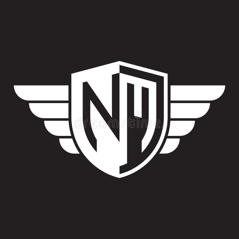 NM. Monogram Of Two Letters N M. Luxury, Simple, Minimal