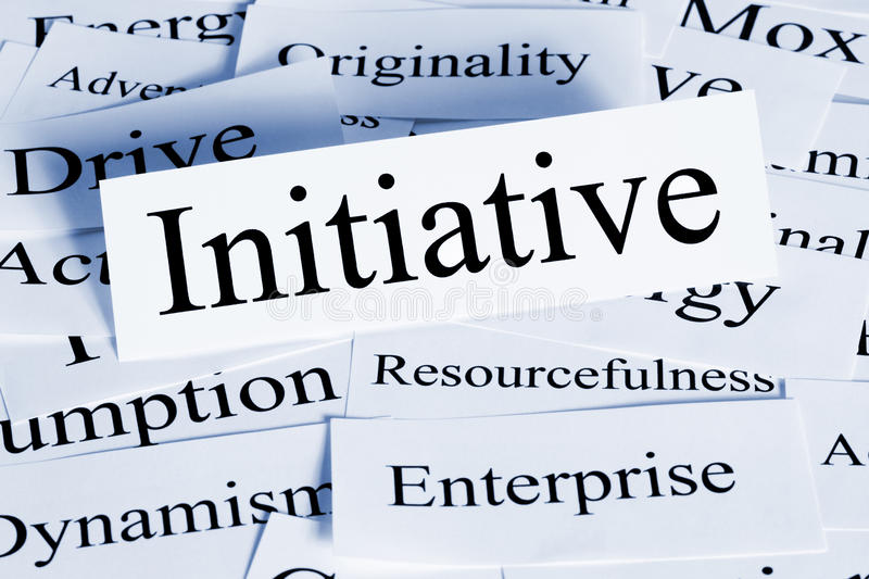 Initiative Concept royalty free stock photography
