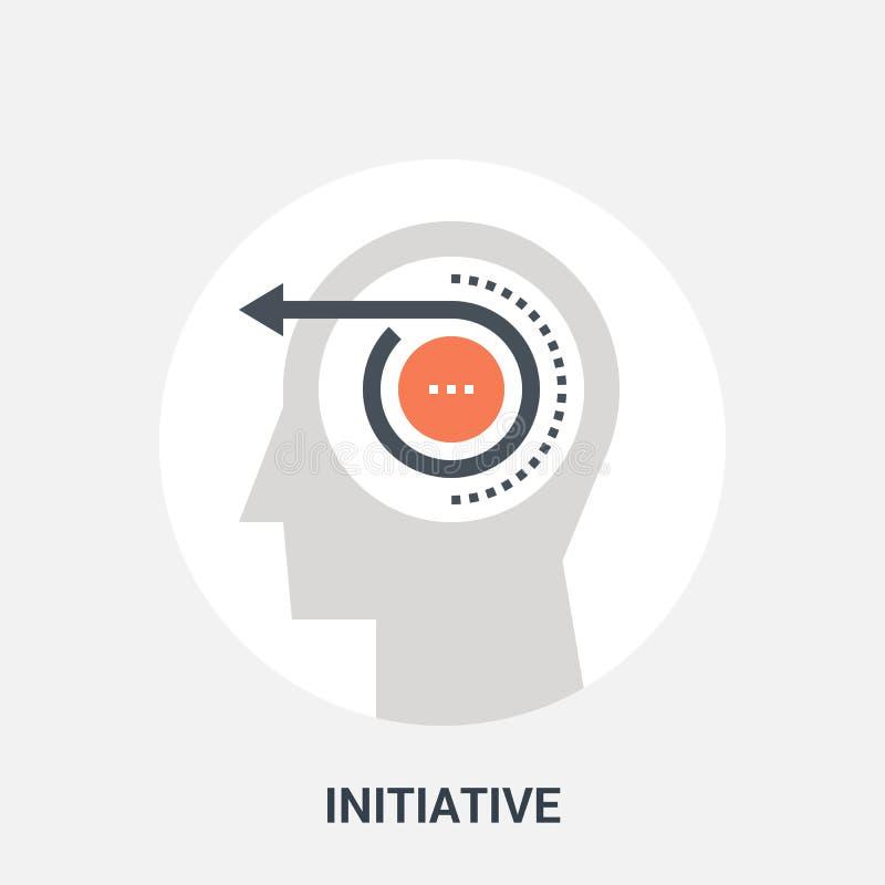 Initiative icon concept stock illustration