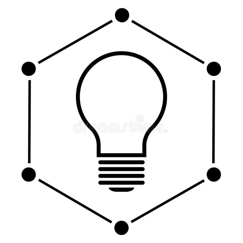 Initiative vector icon illustration. Initiative logo vector royalty free illustration
