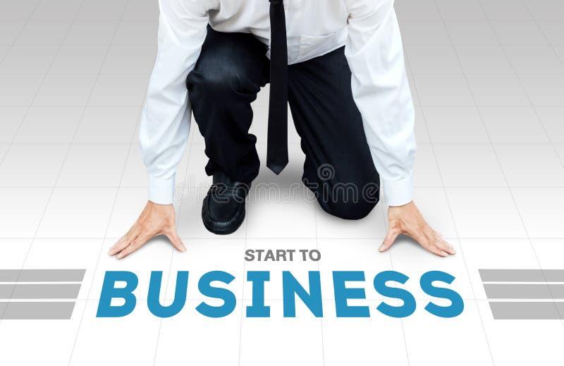 Inizi a lavorare, pronto cominci ad attività o all'affare immagini stock libere da diritti