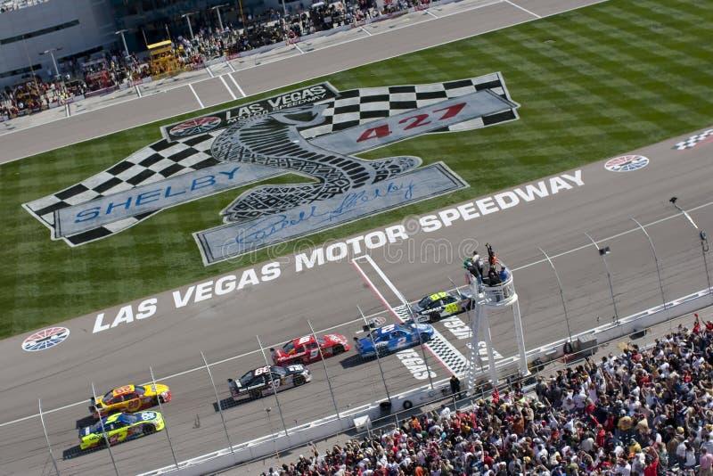 Inizi NASCAR Shelby 427 fotografia stock