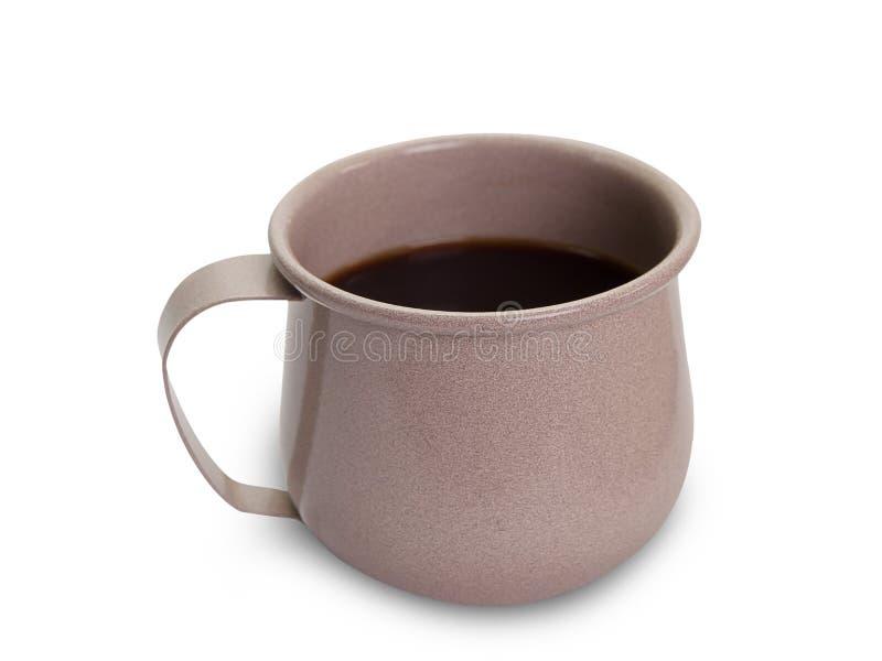 Inizi sul concetto, tazza di Coffe fotografia stock