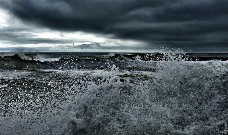 Inizio dell'uragano fotografie stock