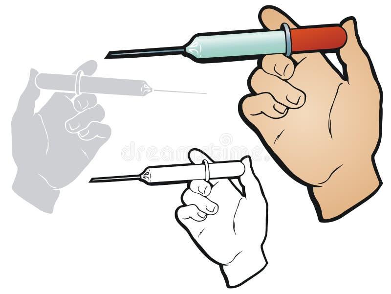 Injectie vector illustratie