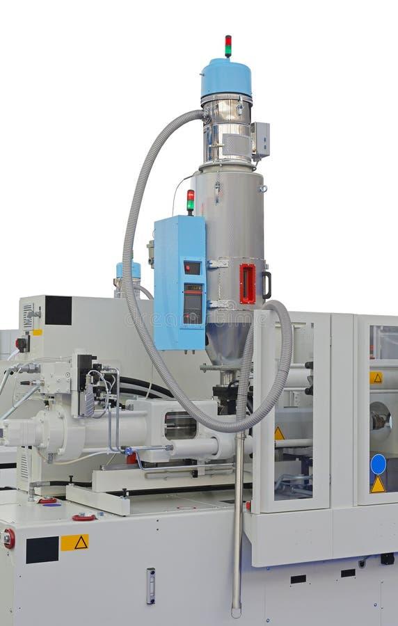 Injectie het vormen machine stock afbeeldingen