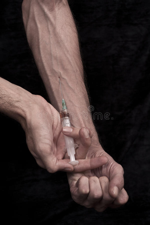 Download Injecting drugs stock photo. Image of shooting, caucasian - 16831414