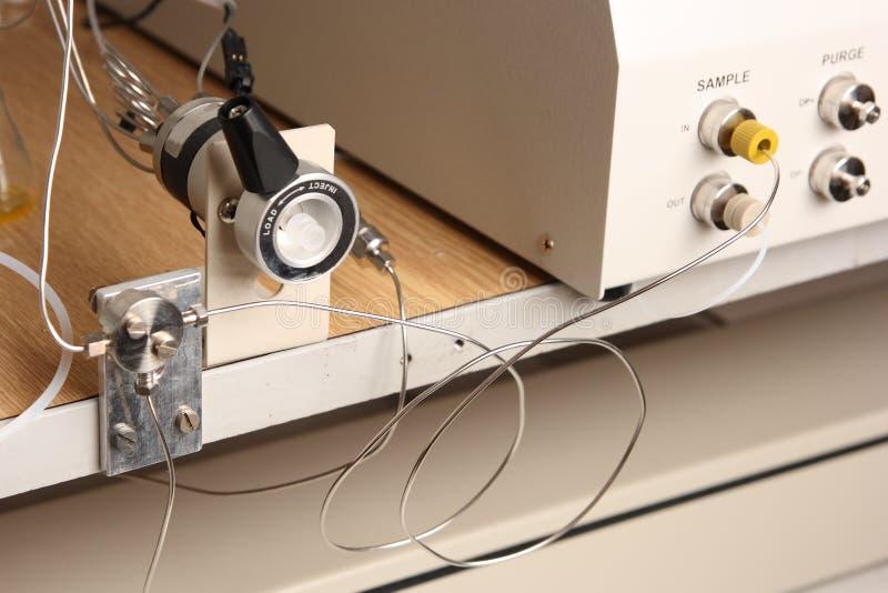 Injector da amostra fotografia de stock