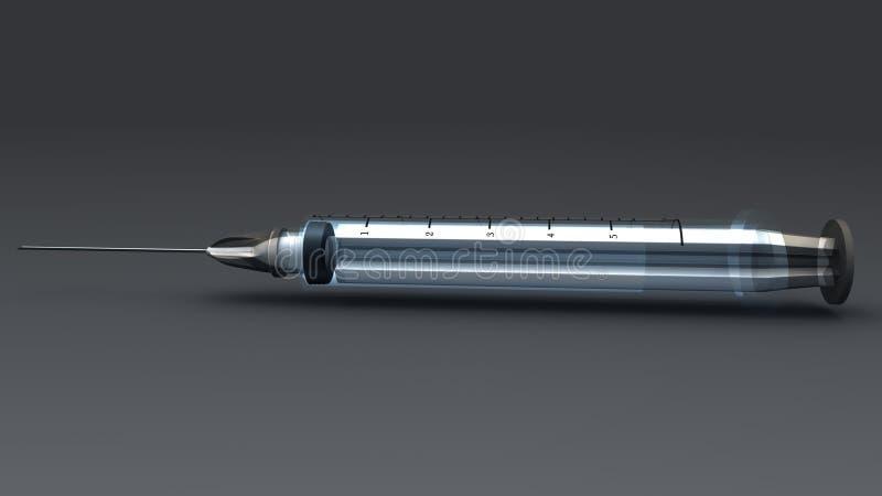 injektion royaltyfri illustrationer