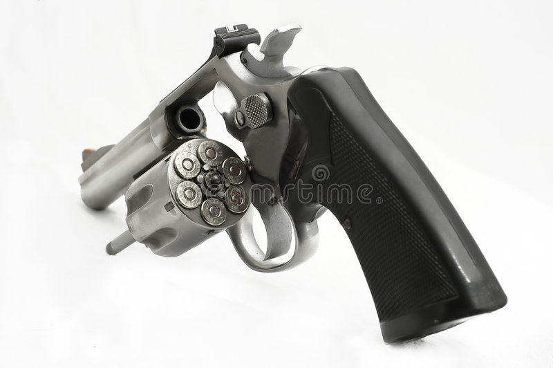 Download Injetor da roda foto de stock. Imagem de handgun, revólver - 125372