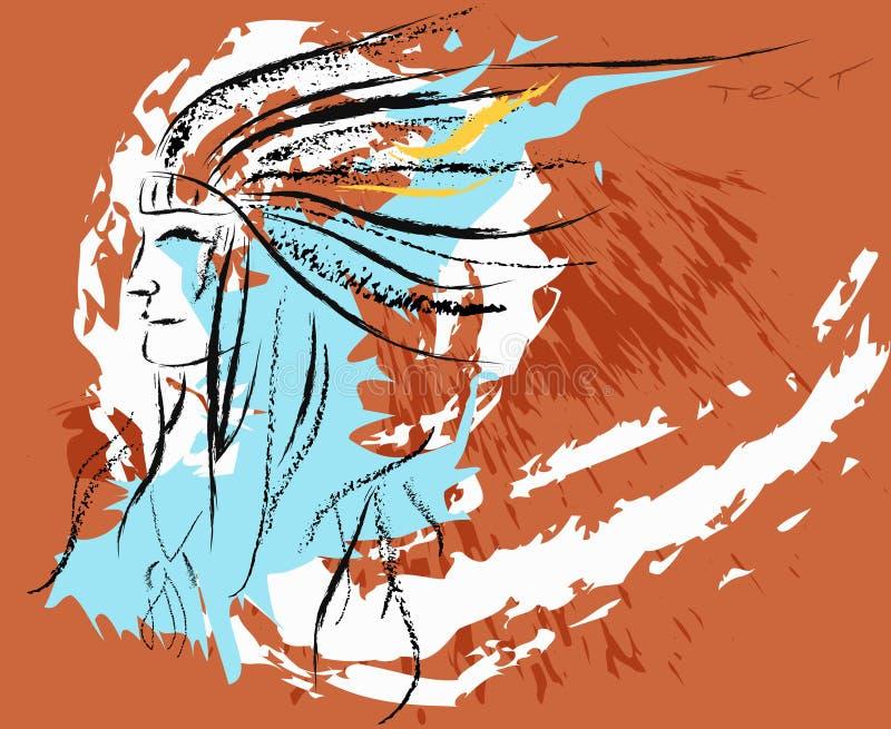 Injun royalty free stock image