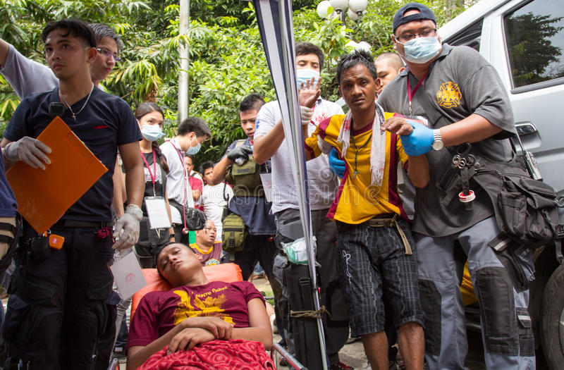 Download Injured Devotees During Feast Of Black Nazarene In Manila, Philippines Editorial Photo - Image: 28565991