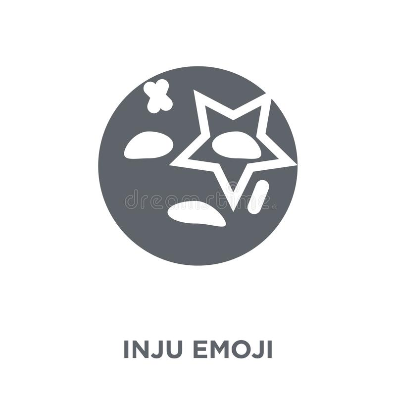 Injured emoji icon from Emoji collection. Injured emoji icon. Injured emoji design concept from Emoji collection. Simple element vector illustration on white vector illustration