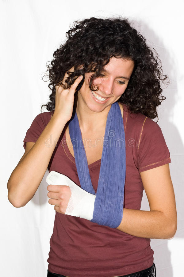 Download Injured hand stock image. Image of feel, hurt, pain, female - 12661207