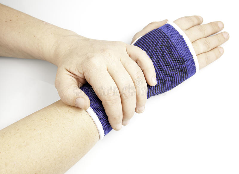 Download Injured wrist stock image. Image of medicine, isolated - 27746567