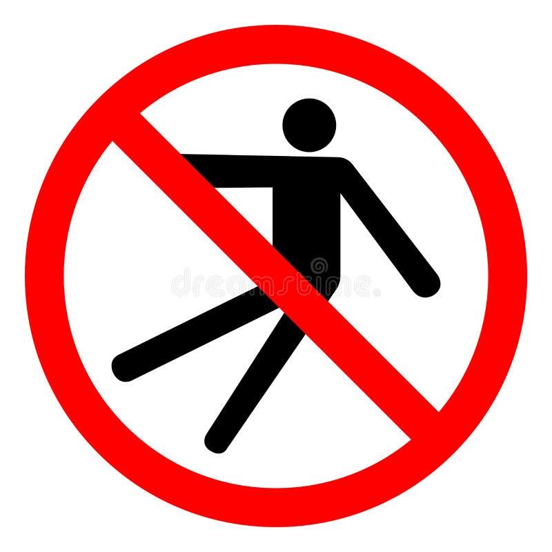 Injury Hazard Slip Fall Symbol Sign, Vector Illustration, Isolate On White Background Label .EPS10 vector illustration