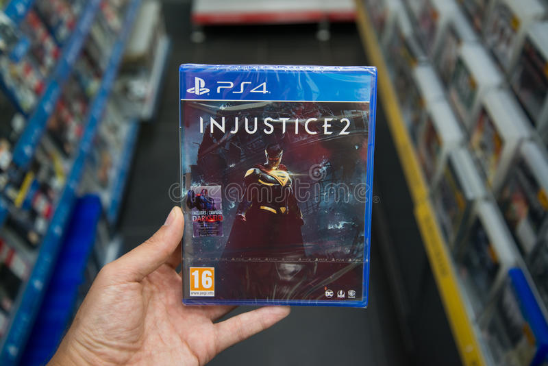 Injustice 2 photos stock