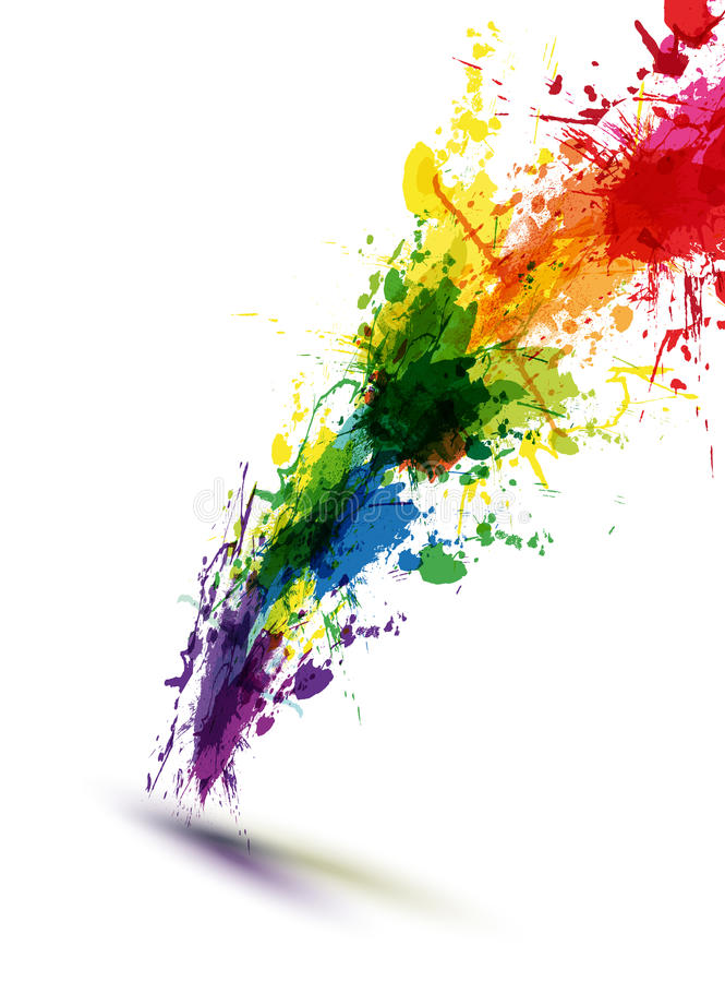 Free Ink Abstract Background Royalty Free Stock Photography - 36113537