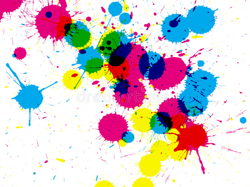 Download Ink drips closeup stock illustration. Illustration of pack - 6116174