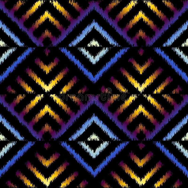 Ink fabric pattern stock illustration