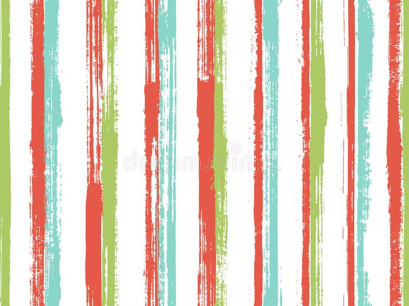 Ink handdrawn straight lines vector seamless pattern. Abstract gift wrapping paper design. Scratchy. Geometric straight lines, stripes background swatch royalty free stock images
