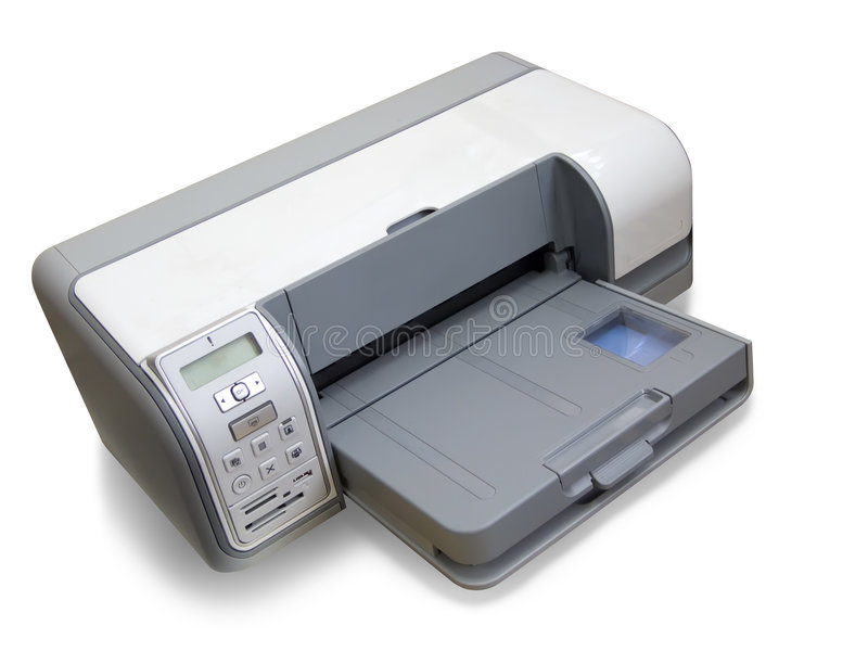Ink-jet printer A4 stock afbeelding
