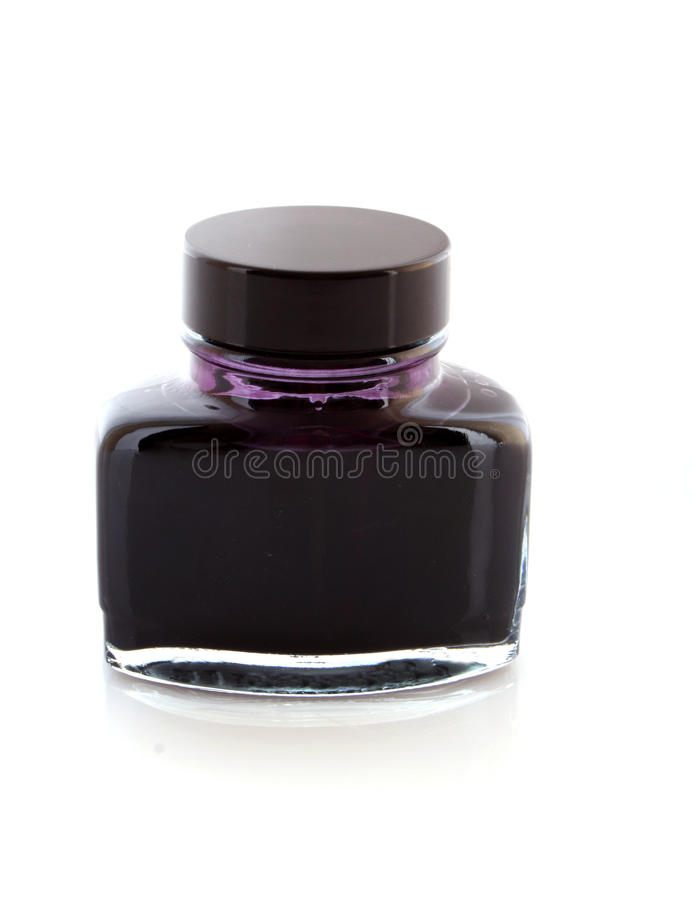 Ink for pen stock photography