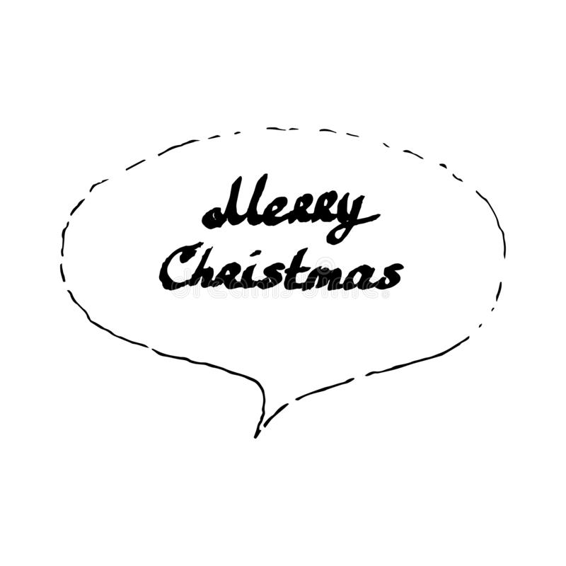 Merry Xmas Word Cloud - Vector Illustration Stock Vector ...