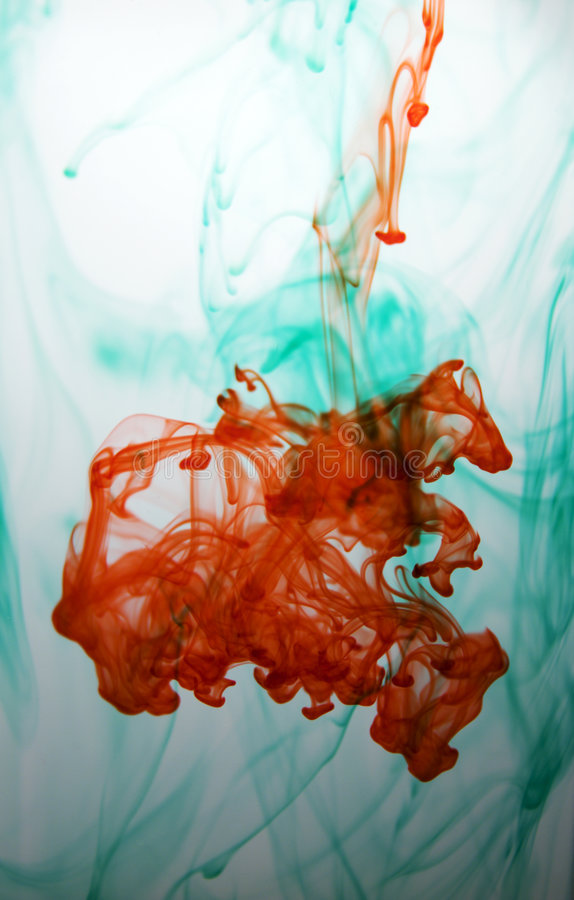 Download Ink in water stock photo. Image of mixing, natural, disperse - 2980222
