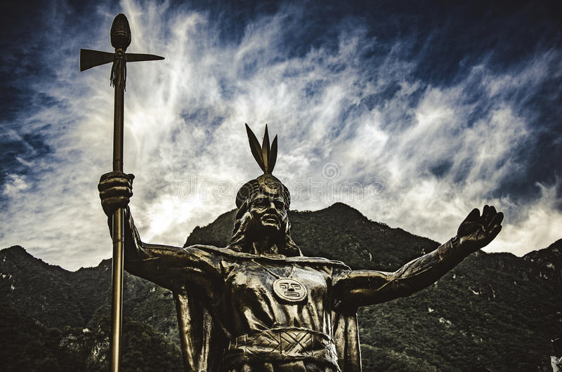 Inka Pachacutec stockbild