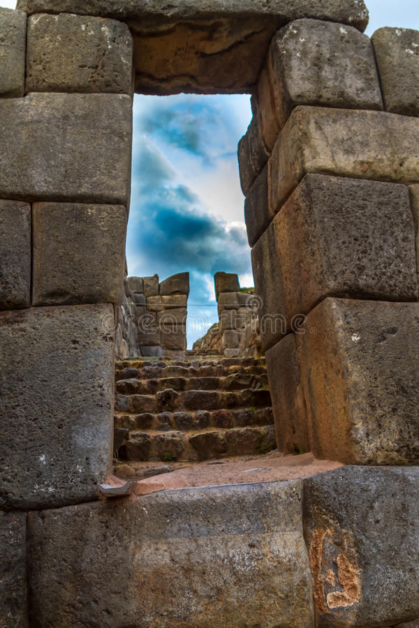 Inka ruiny zdjęcie royalty free