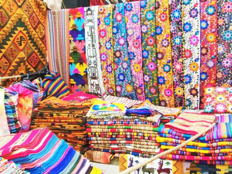 Inka rynek w Pisac, Peru obraz stock