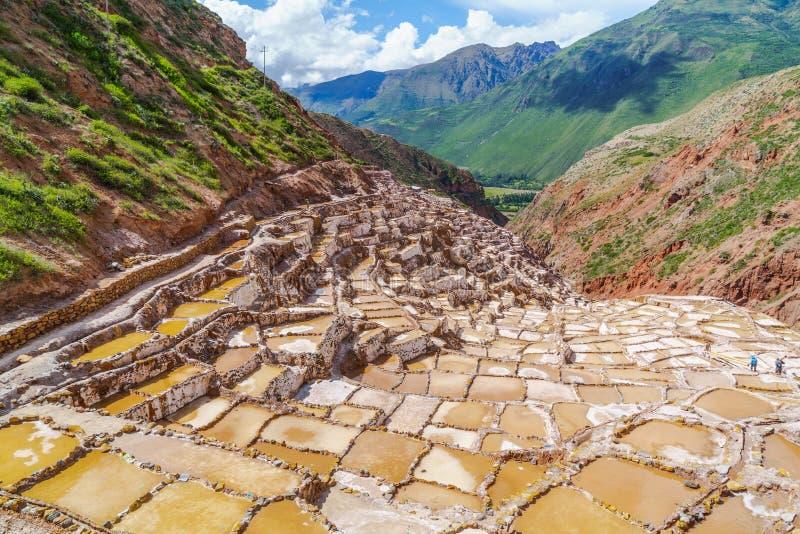 Inka soli baseny obrazy royalty free