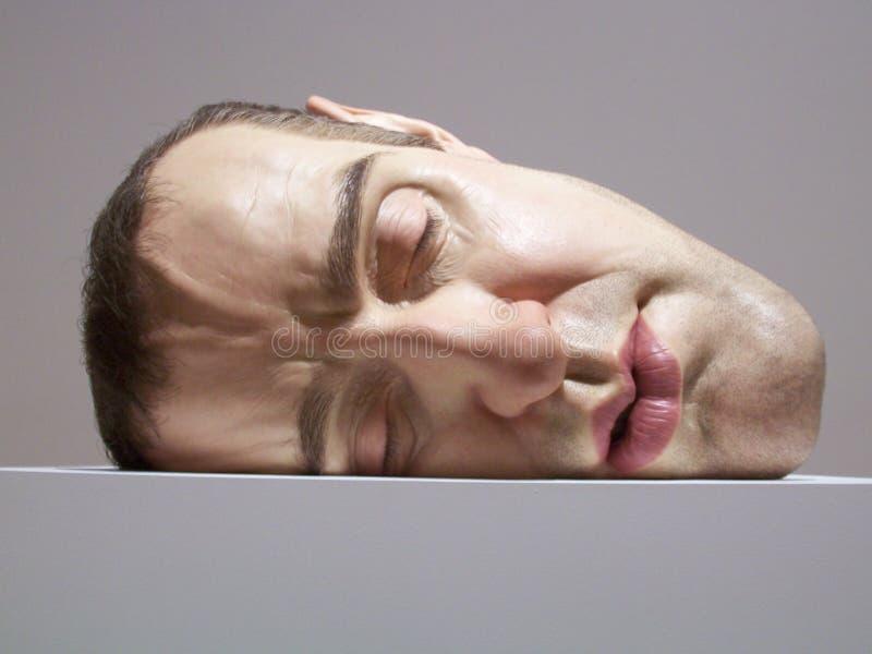 inkasowa mueck ron rzeźba fotografia stock