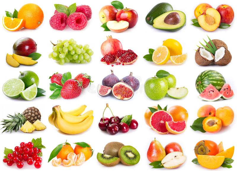 inkasowe świeże owoc obrazy stock