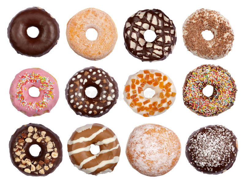 inkasowi donuts fotografia royalty free