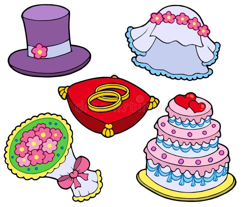 inkasowy ślub royalty ilustracja