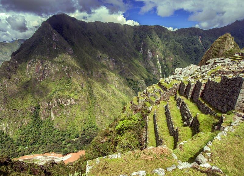 Inkastadt Machu Picchu (Peru) lizenzfreie stockbilder