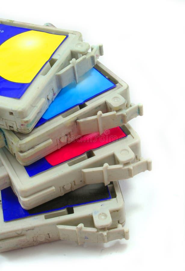 Inkjet cartridge royalty free stock photo