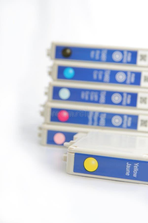 Inkjet cartridge stock images