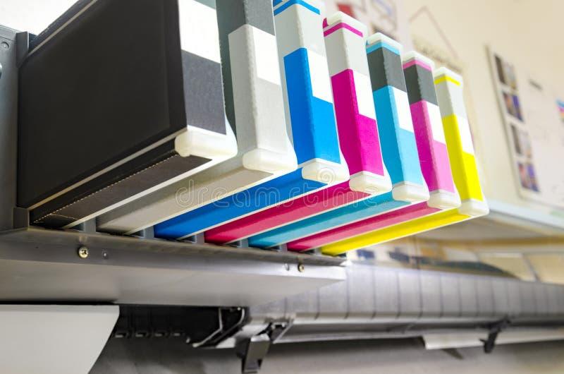 Inkjet-plotterprinter stock fotografie