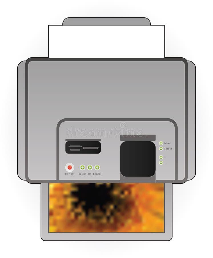 Download InkJet Printer stock vector. Image of technology, part - 18573732