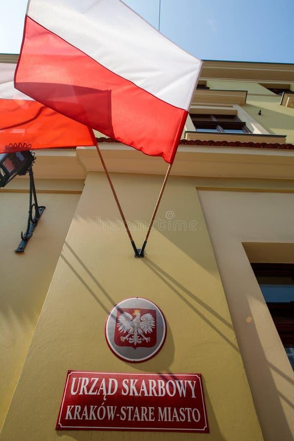 Inkomsttjänst i Krakow royaltyfri foto