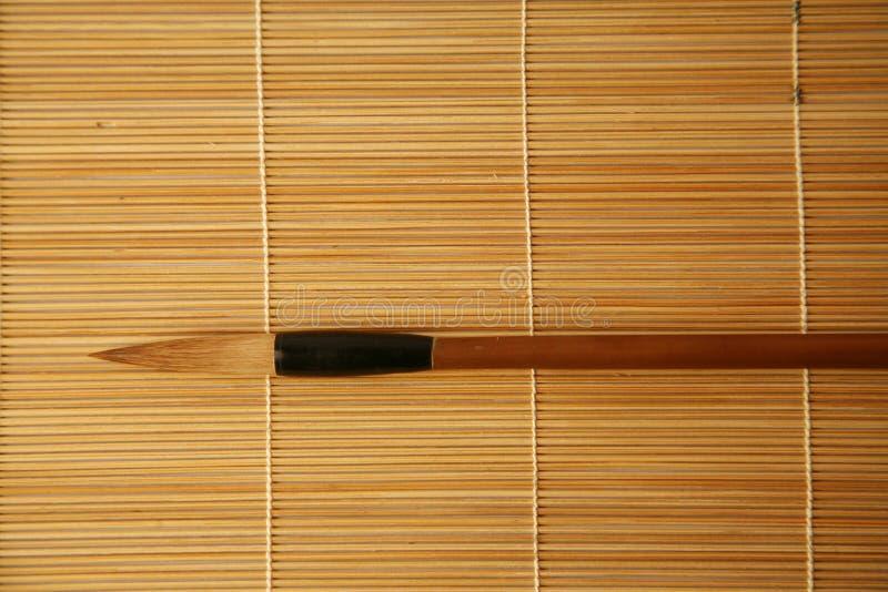 inkpainting画笔的汉语 免版税图库摄影