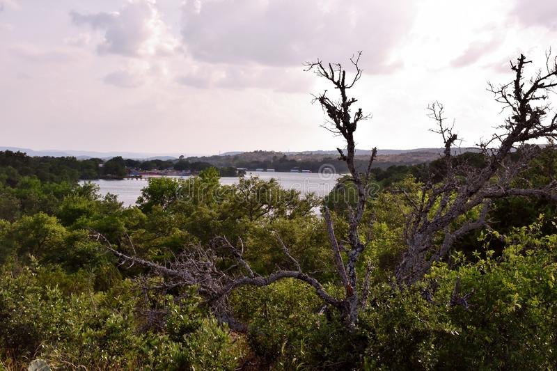 Inks Lake State Park - hills stock photos