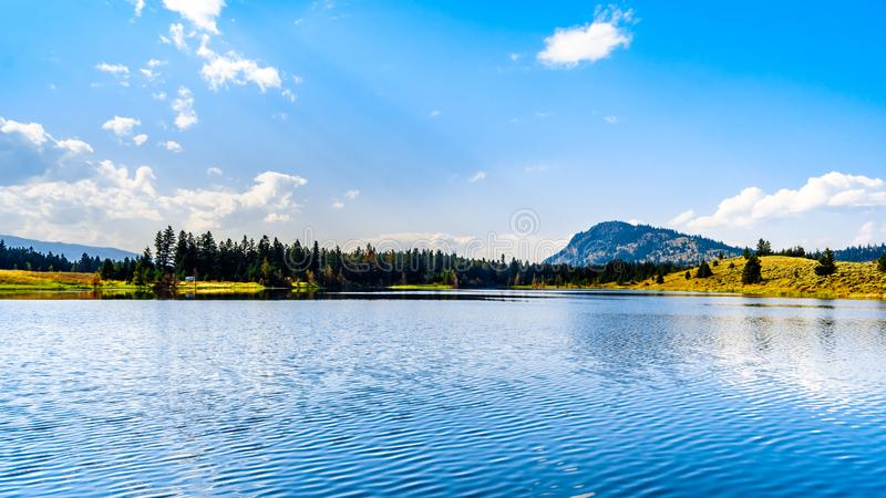 Inks See nahe Kamloops, Britisch-Columbia, Kanada stockbilder